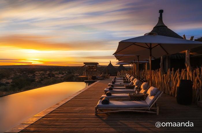 Zannier Hotels Omaanda Lodge Sunset
